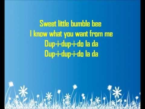 Ddr - Bumble Bee - Lyrics