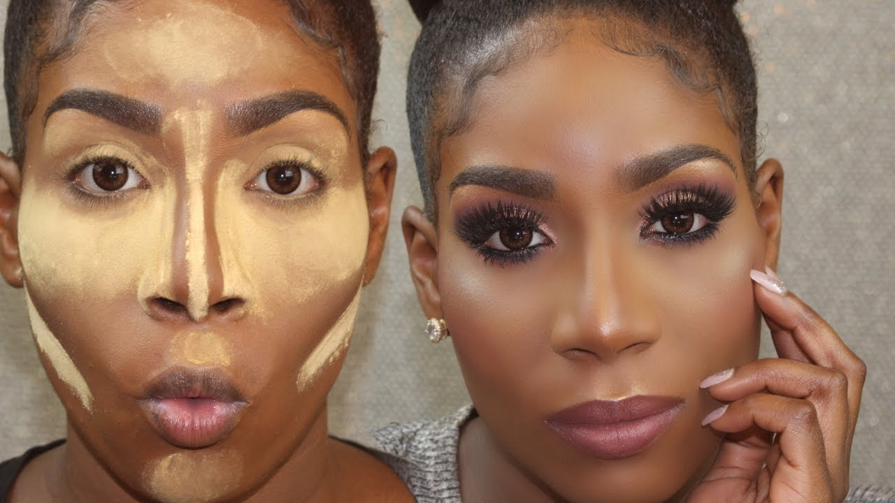 FLAWLESS Drugstore Foundation Routine for DARK SKIN/WOC + ...