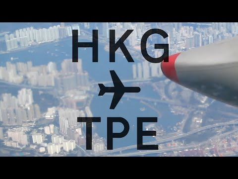 china-airlines-trip-report-|-hong-kong-to-taipei-✈-hd