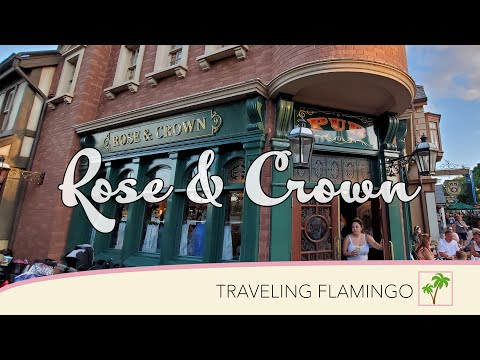 Rose And Crown Disney World | EPCOTs World Showcase