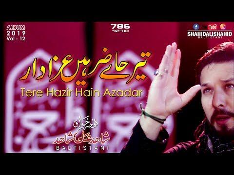 TERE HAZIR HAIN AZADAR | Shahid Ali Shahid-Baltistani | Nohay 2019 | Labbaik Ya Hussain A.s