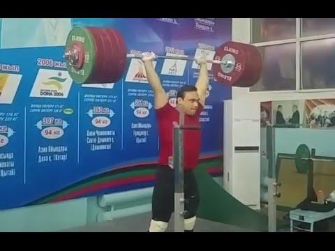 Ilya Ilin — 250 Kg Jerk