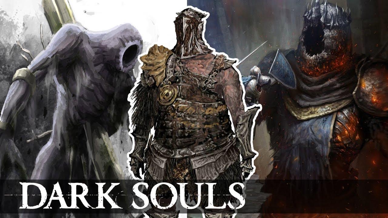 Dark Souls Ii Lore And Speculation: OS GIGANTES DE DARK SOULS, A HISTÓRIA (YHORM LORE, GOUGH