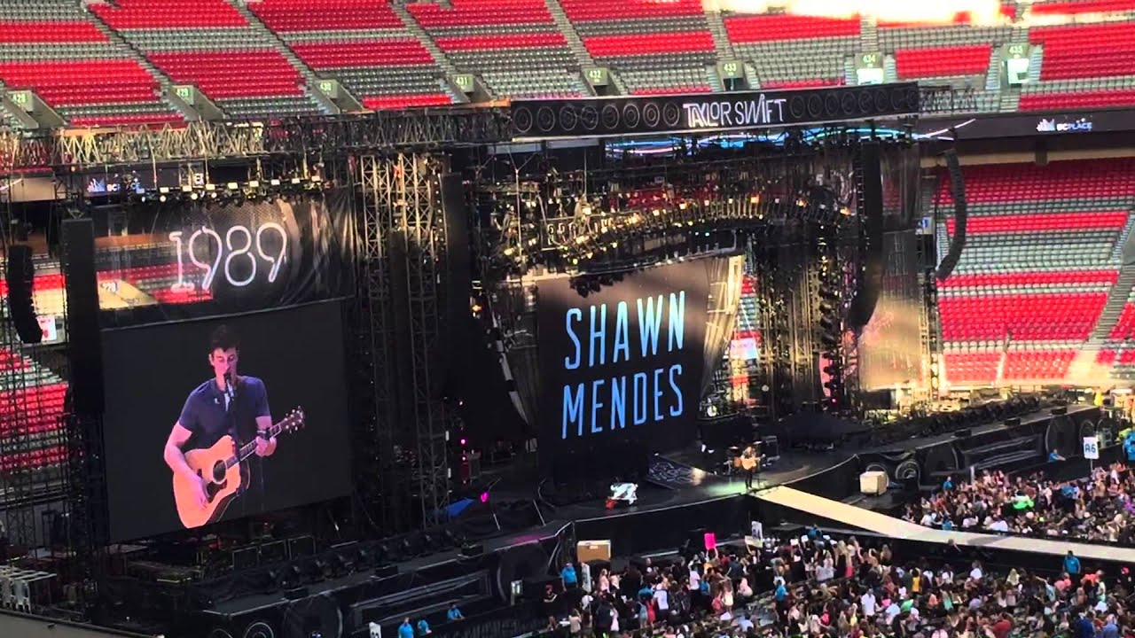 Shawn Mendes Full Set Taylor Swift Concert Vancouver Bc August 1 2015 Youtube