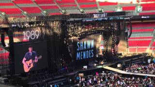 Shawn Mendes Full Set - Taylor Swift Concert - Vancouver BC (August 1, 2015)