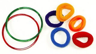 Best craft idea    DIY arts and crafts    Cool idea you should know    DIY Hair rubber crafts