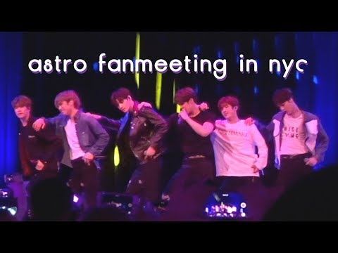 180209 ASTRO 『 FANMEETING PERFORMANCES 』 IN NEW YORK