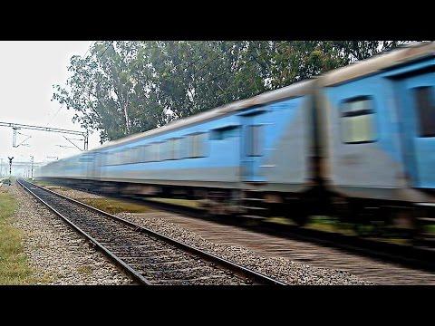 IRFCA - 12014 Amritsar Shatabdi hitting 130kmph!!