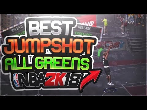 THE BEST JUMPSHOT IN NBA 2K18 PRELUDE! SO MANY GREEN LIGHTS PLEASE DONT  PATCH IT 2K!