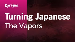 Karaoke Turning Japanese - The Vapors *