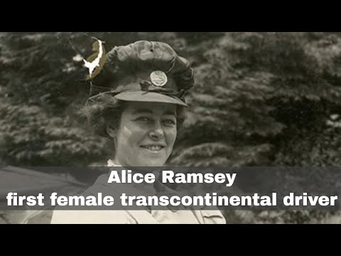 7th August 1909: Alice Ramsey Makes The First Female Transcontinental Car Journey