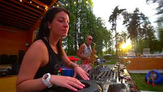 Download Dj LiyaFran & Syntheticsax -  Daft Punk - Get Lucky (Summer party live record)