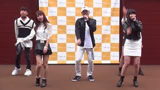 Blanck (ブランク)「CALL (AAA)」2018/03/17 エイベックス・チャレンジステージ 三井アウトレットパーク 大阪鶴見