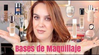 Las mejores Bases Maquillaje / Mis favoritas para Piel Madura, seca y grasa!