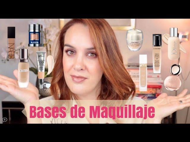 Las Mejores Bases Maquillaje Mis Favoritas Para Piel Madura Seca Y Grasa Youtube