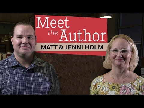 Meet the Authors: Jenni and Matt Holm (BABYMOUSE) - YouTube