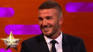 David Beckham Tried To Stay Calm When His Daughter Was Tackled | The Graham Norton Show