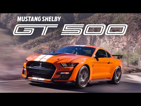 The Ford Mustang Shelby GT500 is the Most Powerful Mustang EVER BUILT