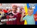 Alyssa's Dress Dilemma, Cute DIY Barn & Voice Recital || Mommy Monday