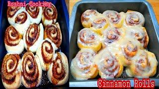 Cinnamon Rolls How to make Super yumy Cinnamon Rolls Recipe by Roshni Cooking
