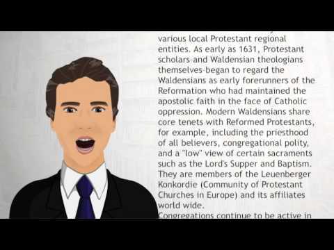 Waldensians - Wiki Videos