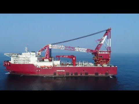 China Delivers New 5,000 Tone Crane Vessel