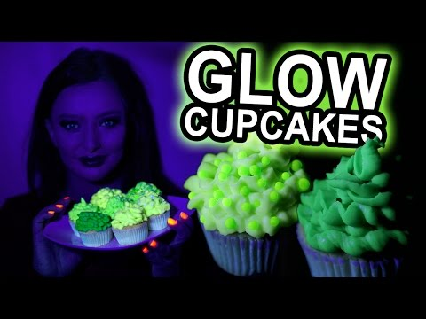 How To Make Green Glow In The Dark Cupcakes