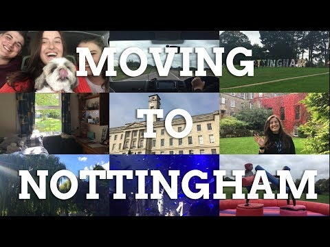 Vlog: FIRST WEEK at the UNIVERSITY OF NOTTINGHAM