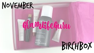 November GlamLifeGuru Birchbox