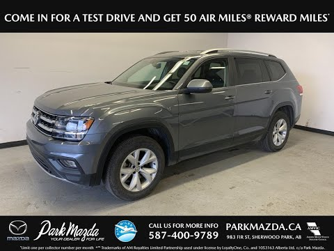 GREY 2018 Volkswagen Atlas Review - Park Mazda