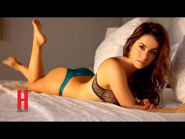 Claudia Lizaldi Â¡sexy como nunca! en revista H para Hombres
