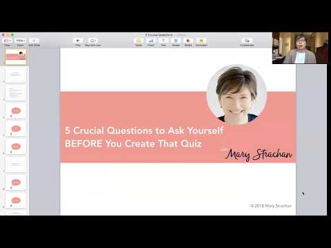 5 Crucial Questions to Ask Yourself BEFORE You Create That Quiz!