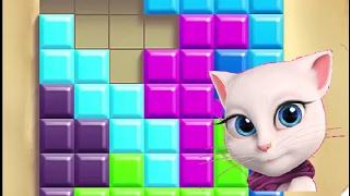 La gata Angela - Los puzzles de Angela. Nivel 1-30.