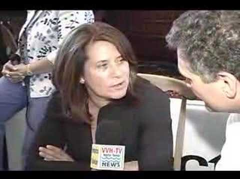 Lorraine Bracco, of the Sopranos, Interview on VVH-TV