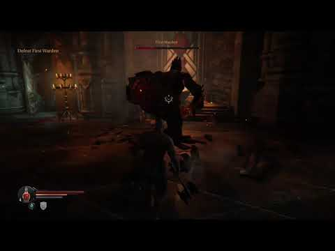 how to beat the first warden | Lords of the Fallen |