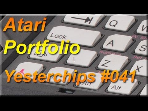 MIGs Yesterchips - Folge #041 Atari Portfolio