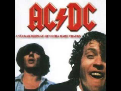ACDC  You Shook Me All Night Long   Acoustic Version  Ultra Rare
