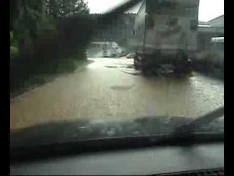 Unwetter in Arnstein am 03.07.2009