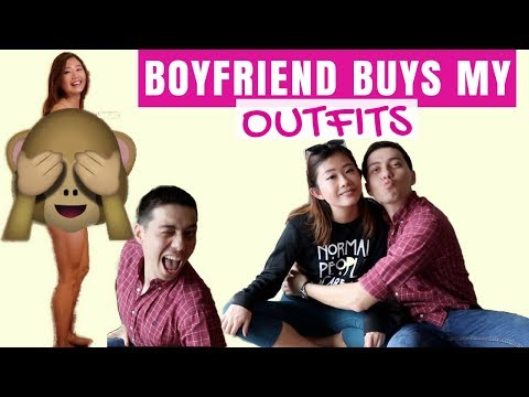 Boyfriend Buys Outfits for Girlfriend: Surprise Shopping Challenge! 【開箱】男友幫我買衣服   冬季穿搭