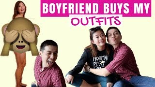 Boyfriend Buys Outfits for Girlfriend: Surprise Shopping Challenge!