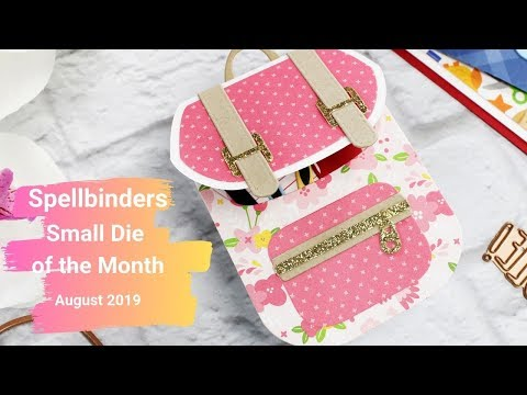 Spellbinders Small Die of the Month | August 2019 - Mindy Eggen Design
