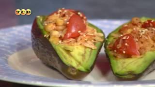 Запечённый плод авокадо. Дело вкуса по-вегетариански