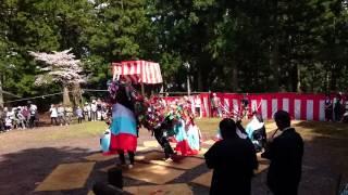 八つ鹿踊(愛媛県三滝神社)