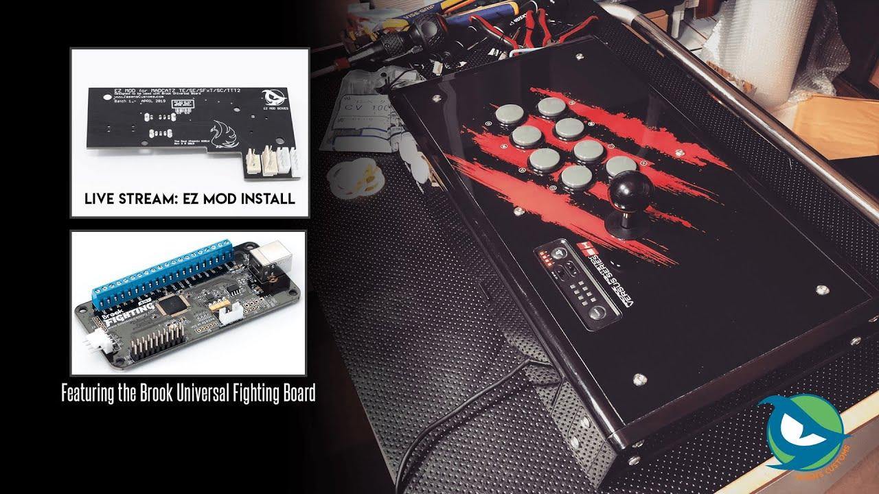 Madcatz TE/SFxT/VS/FS Pro EZ MOD