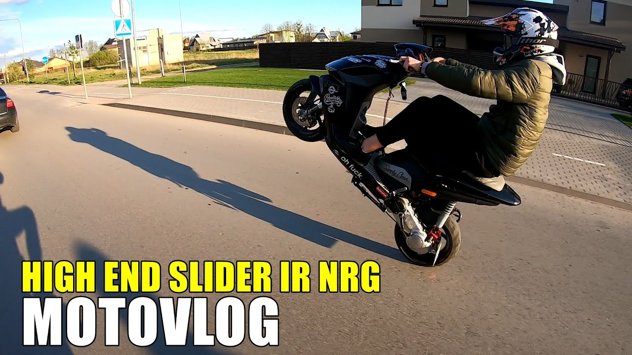 HIGH END Yamaha Slider ir PIAGGIO NRG!