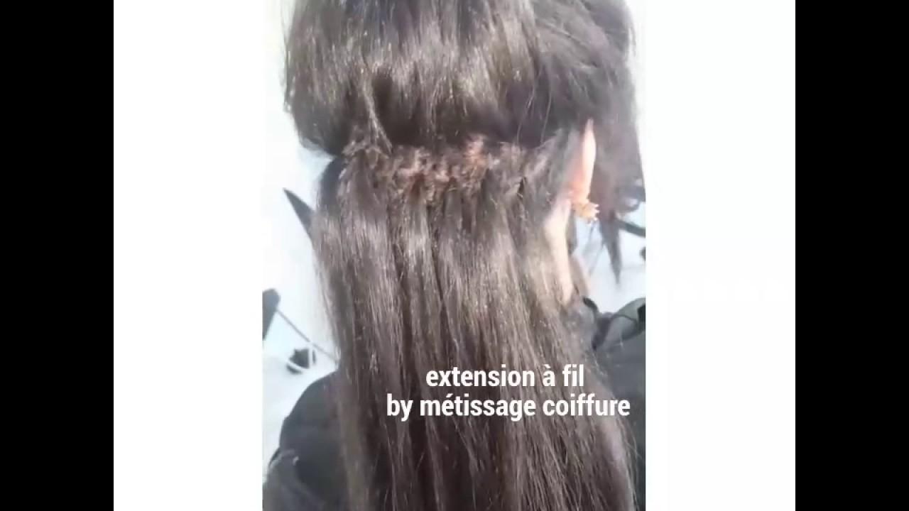 Extension cheveux technique bresilienne