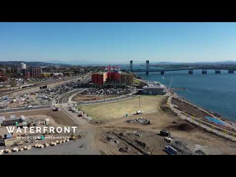 The Waterfront - October 14 2018 Drone Video