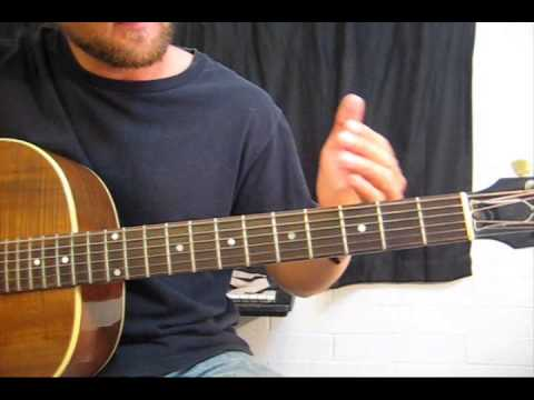 How to Play an Open D Chord on Guitar - YouTube