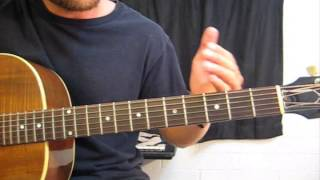 how to play an open d chord on guitar