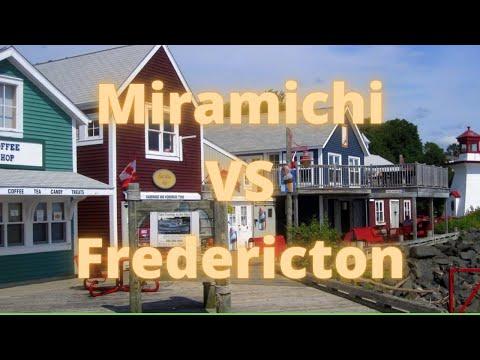 Miramichi VS Fredericton, New Brunswick, Canada.